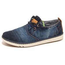 8561P sneaker bimbo TIMBERLAND HOOKSET blu denim shoe kid