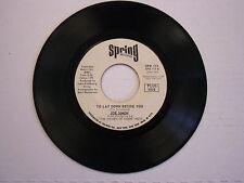 Joe Simon Help Me Make It Through The Night/To Lay Down Beside You 45 RPM Spring