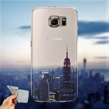 Etui/Coque Samsung S5/S6/S6 edge/S6 edge+/S7/S7 edge Silicone New York USA