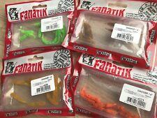 "Fanatik DAGGERE 1.6""(4.1cm)10pcs-soft eatable lure!! made in Ukraine!!"
