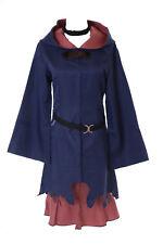 MN-53 Ursula Petit Sorcière Academia Bleu 4 Pièces Lot Costume Robe Cosplay