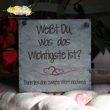 Shabby Style -Das Wichtigste ~ DU- Holzschild Geschenk HandsArt Valentinstag