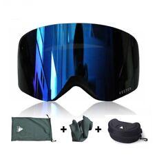Goggles Ski Snowboard UV 400 Snow Protection Double Anti-Fog Cylindrical