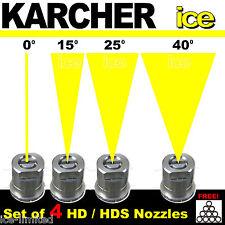 KARCHER Professional Pressure Washer Power Nozzle Spray Jets  0° 15° 25° 40° Set