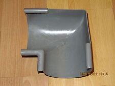 Dachrinne Regenrinne Ecke Dachrinnenecke grau PVC plastik Rinnenecke