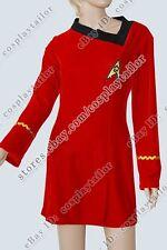 Star Trek TOS Engineering Uniform Costume Dress Comfortable to Wear Fit You Best