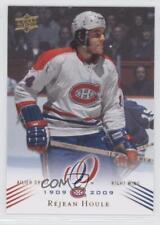 2008 Upper Deck Montreal Canadiens Centennial Set #108 Rejean Houle Hockey Card