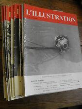 L'illustration année 1941  Lot de 19 numéros