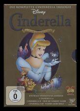 DVD WALT DISNEY - CINDERELLA TRILOGIE 1 + 2 + 3 - FILM COLLECTION *** NEU ***