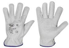 1 - 240 Paar STRONG HAND® CLASSIC SILVERSTONE Rindnappaleder Driver Handschuhe