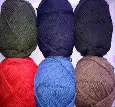 Chunky Pure New British Wool Yarn - 100g balls - Perfect for Heavy Aran Knits