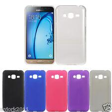 Soft Gel TPU Skin Case Anti-Scratch Slim Cover for Samsung Galaxy J3 / Sol J321