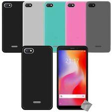 Housse etui coque pochette silicone gel fine pour Xiaomi Redmi 6A + film ecran