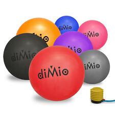 diMio Gymnastik Ball inkl Pumpe für Yoga Pilates Sitz Fitness Pezzi Therapieball