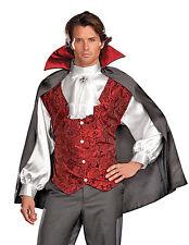 Vampire Costume, Dreamgirl 5940, Adult Men's 3 Piece, Size M, L, XL