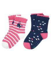 GYMBOREE STRIPES & ANCHOR WHALE N FISH 2-pair OF GIRLS SOCKS 6 12 24 2 3 4 5 NWT