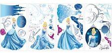 Cendrillon autocollants planches de 31 stickers Glamour décoration murale 89130-