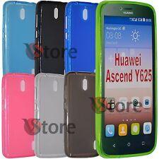 Cover Custodia Per Huawei Ascend Y625 Gel Silicone TPU Retro Opaco