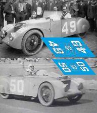 Calcas Chenard Walcker Tank Le Mans 1925 49 50 1:32 1:43 1:24 slot decals