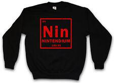 NIN PULLOVER Tendium Element Periodic Table NES Games Joystick Retro Video Mario