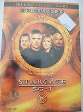 Stargate SG-1 Sixth Season 5 Disc DVD Box Set SEALED