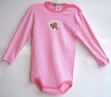 SANETTA Baby-Body 1//1 Arm pink weiß Druck Pferdekopf Gr 86  92   UVP 10,95 €