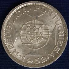 MACAO 5 PATACAS ARGENTO 1952 #508