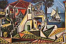Pablo Picasso-paisaje Mediterráneo Caja De Lona Pared Arte Impresión Varios Tamaños