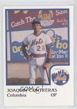 1986 ProCards Columbia Mets #JOCO Joaquin Contreras Rookie Baseball Card
