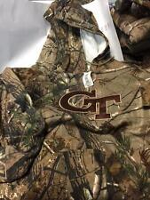 Georgia Tech Yellow Jackets Realtree Camo Hooded Sweatshirt