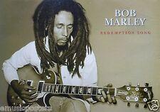 "BOB MARLEY ""REDEMPTION SONG"" U.K. COMMERCIAL POSTER - REGGAE MUSIC"