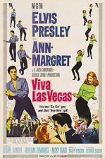 """ VIVA LAS VEGAS""  ELVIS  (1).1964. Classic Movie Poster A1 A2 A3 A4Sizes"