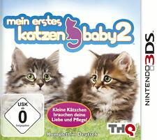 - Mein erstes Katzenbaby 2  -Komplett- Nintendo 3DS Spiel -