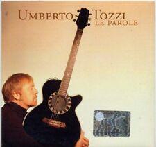 UMBERTO TOZZI raro CD single PROMO 1 traccia LE PAROLE  cardsleeve SANREMO