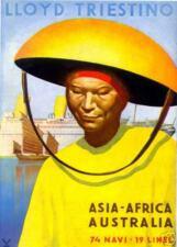 G.Boccasile-LLOYD TRIESTINO-cinese-CINA-ASIA-BARI