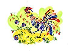 farm rooster bird Tile Mural Kitchen Bathroom Wall Backsplash Art Marble Ceramic
