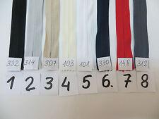 4 Reißverschlüsse nahtfein nicht teilbar 1,52 EUR//Stück 50 cm lang 35 Farben