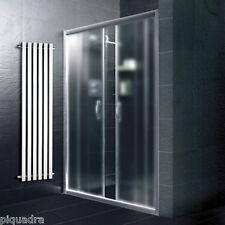 Box doccia nicchia porta 155 a 180 scorrevole centrale in cristallo 6 mm opaco