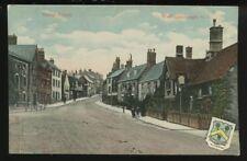NORTHANTS Wellingborough Sheep St 1909 PPC