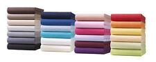 Spannbettlaken Luxus Jersey Baumwolle 140 - 160 x 200 cm - Oeko-Tex Standard 100