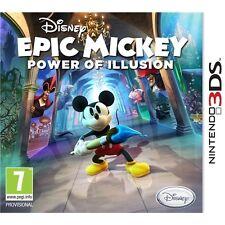 Disney Epic Mickey: Power of Illusion (Nintendo 3DS, 2012)