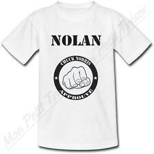 T-shirt Bébé Approuvé par Chuck Norris avec Prénom Personnalisé