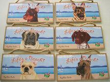 Key West Doberman Bulldog German Shephard Pointer Great Dane Mastiff Dog Sign