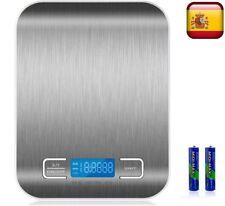 Balanza digital de cocina peso bascula electrónica DE 1g A 5000g 5Kg Digital