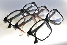Negrita más tamaño con estilo Funky Retro Geek Moda Gafas de lectura 3 Colores TN44