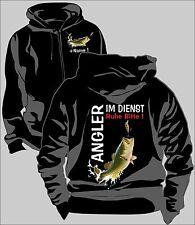 Anglerjacke Angler Jacke Kapuzenjacke Sweatjacke Bass Fishing Urlaub  Angel 151