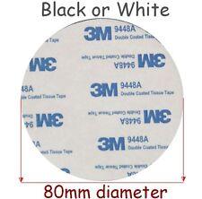 3M polietilene EVA Imbottitura NERA/BIANCO 80mm Diam. x 2mm Spessi