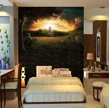 3D Notte Alba 54 Parete Murale Foto Carta da parati immagine sfondo muro stampa