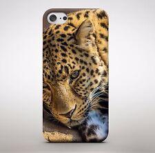 León Leopardo Gato Animal Naturaleza teléfono caso para IPhone HTC Samsung Sony LG Huawei