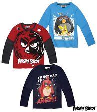 Angry Birds T-Shirt Shirt  Pulli Langarmshirt Pyjama Schlafanzug Shorty
